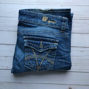 Kut from the Kloth Kate Lowrise Bootcut Jean